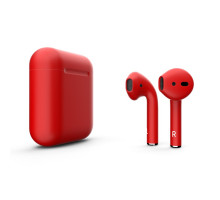 Apple AirPods (MMEF2) Colors Red Matte