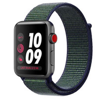 Apple Watch Series 3 Nike+ Cellular 42mm Space Gray Aluminum w. Midnight Fog Nike Sport L. (MQLH2)