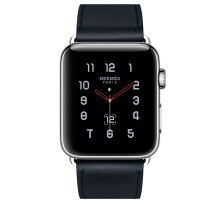 Apple Watch Series 4 Hermes GPS + LTE 44mm Steel w. Bleu Indigo (MU772)