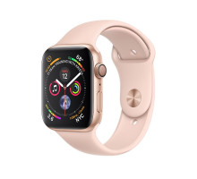 Apple Watch Series 4 GPS + LTE 40mm Gold Alum. w. Pink Sand Sport b. Gold Alum. (MTUJ2)