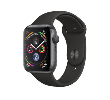 Apple Watch Series 4 GPS + LTE 40mm Black Steel w. Black Sport b. Black Steel (MTUN2)