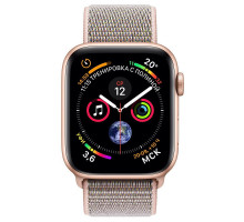 Apple Watch Series 4 GPS + LTE 44mm Gold Alum. w. Pink Sand Sport l. Gold Alum. (MTV12, MTVX2)