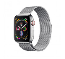 Apple Watch Series 4 GPS + LTE 40mm Steel w. Milanese l. Steel (MTUM2)