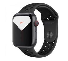 Смарт-часы Apple Watch Series 5 GPS + LTE 44mm Space Gray Aluminum w. Anthracite/Black Nike Sport Band (MX3A2/MX3F2)