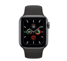 Apple Watch Series 5 LTE 40mm Space Gray Aluminum w. Black b.- Space Gray Aluminum (MWWQ2) / MWX32