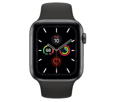 Apple Watch Series 5 LTE 44mm Space Gray Aluminum w. Black b.- Space Gray Aluminum (MWW12) / MWWE2