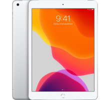 Планшет Apple iPad 10.2 Wi-Fi + Cellular 128GB Silver (MW712)