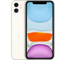 Смартфон Apple iPhone 11 128GB Dual Sim White (MWN82)