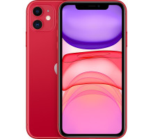 Смартфон Apple iPhone 11 64GB Dual Sim Product Red (MWN22)