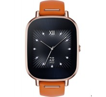 ASUS ZenWatch 2 Stainless Steel WI502Q - (Rosegold/Leather Orange)