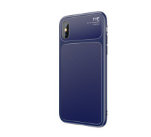 Baseus Чехол Knight Case for IPhone X Blue