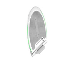 Baseus Wireless Charger Foldable Multifunction White MOQ:10 (WXZD-02)