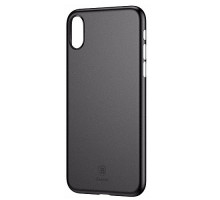 Baseus Чехол Wing iPhone X (Black) (WIAPIPHX-A01)