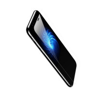 Baseus Защитное стекло Silk-Screen Back Glass Film для Apple iPhone X Black (SGAPIPHX-BM01)