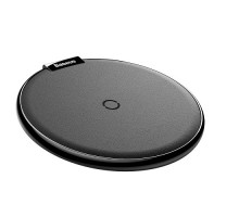 Baseus Беспроводное iX Desktop Wireless Charger Leather Black (WXIX-01)
