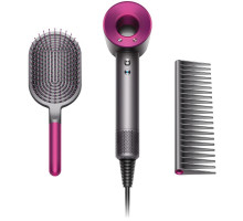 Фен Dyson HD01 Supersonic Fuchsia + Brush Kit (HD01 Brush Kit)