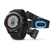 Garmin fenix 5 Slate Gray with Black Band Performer Bundle (010-01688-30)