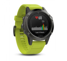 Garmin Fenix 5 Slate Grey with AMP Yellow Band (010-01688-02)