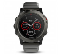 Garmin fenix 5X Slate Gray Sapphire with Black Band (010-01733-03)