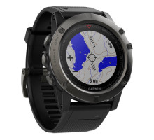 Garmin fenix 5X Slate Gray Sapphire with Black Band (010-01733-00)