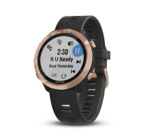 Garmin Forerunner 645 Music Black with Rose Gold Hardware (010-01863-32)