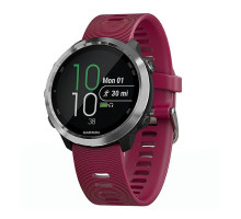 Garmin Forerunner 645 Music With Cerise Colored Band (010-01863-31)
