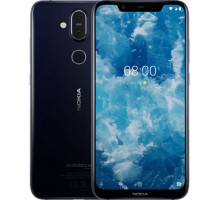 Смартфон Nokia 8.1 6/128GB Blue/Silver