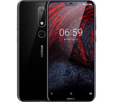 Смартфон Nokia 6.1 Plus 4/64GB Dual Sim Black