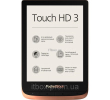 Электронная книга Pocketbook 632 Touch HD 3 Spicy Copper PB632-K-WW