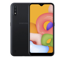 Смартфон Samsung Galaxy A01 2/16GB Black (SM-A015FZKD)