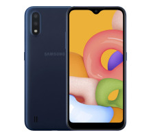 Смартфон Samsung Galaxy A01 2/16GB Blue (SM-A015FZBD)