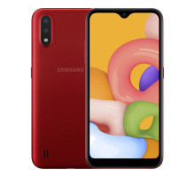 Смартфон Samsung Galaxy A01 2/16GB Red (SM-A015FZRD)