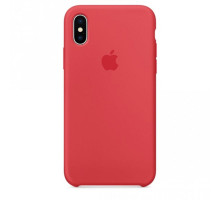 Apple iPhone X Silicone Case Red Raspberry (like orig)