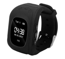Детские умные часы Smart Baby Q50 GPS Smart Tracking Watch Black