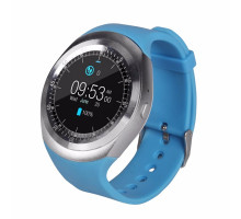 Смарт-часы UWatch Y1 (Silver/Blue)
