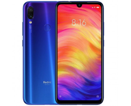 Смартфон Xiaomi Redmi Note 7 4/128GB Blue (Global Version)