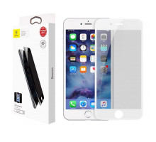Baseus Glass Film Soft Edge Anti-Peeping iPhone 8/7 White (SGAPIPH8N-TG02)