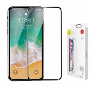 Baseus Silk-screen Tempered Glass 0.2 mm for iPhone X (SGAPIPHX-TN01)