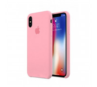 Apple iPhone X Silicone Case Pink (like orig)
