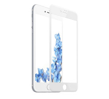 Baseus Glass 3D PET 0.23 Anti-Blue light iPhone 8/7 White (SGAPIPH8N-TES02)