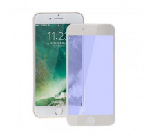Baseus Glass Silk-screen All-screen Anti-blue 0.3mm iPhone 8/iPhone 7 White (SGAPIPH8N-KB02)