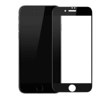Baseus Glass Silk-screen All-screen Anti-blue 0.3mm iPhone 8/iPhone 7 Black (SGAPIPH8N-KB01)