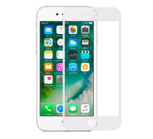Baseus 3D Soft Edge Full Cover  Screen Protector Glass iPhone 6 and 6s 0.23mm White