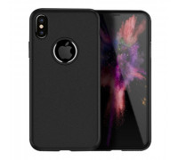 Hoco Fascination Series Protective Cover for iPhone X Black