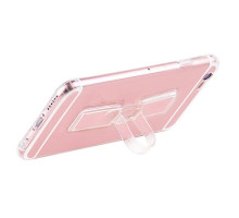 Hoco Finger Holder TPU Cover for iPhone 6/6s Rose Gold