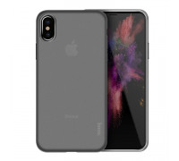 HOCO Thin Series Frosted Case for iPhone X Black