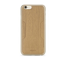 ROCK Cana Series for iPhone 6s / 6 Wood Grain Leather Skin Gold