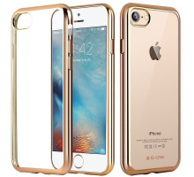 G-Case Fashion Protection Shell Gold for iPhone 7