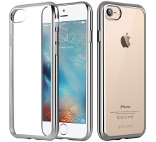 G-Case Fashion Protection Shell Silver for iPhone 7