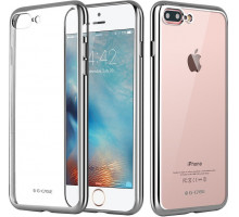 G-Case Fashion Protection Shell Silver for iPhone 7 Plus